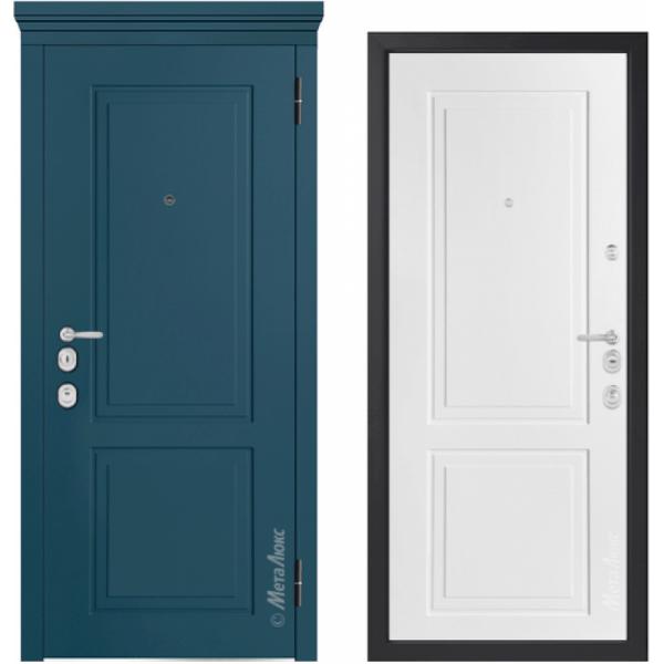 Дверь входная металлическая Металюкс М1012/17 E Милано