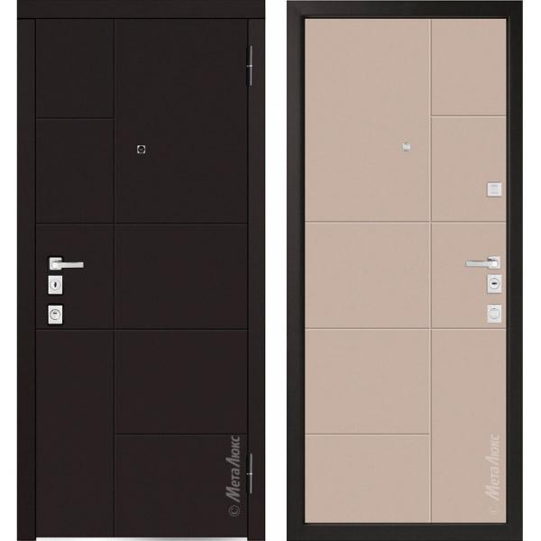 Дверь входная металлическая  «Металюкс» М1101/1 Милано