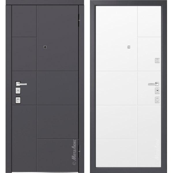 Дверь входная металлическая  «Металюкс» М1101/5 Милано