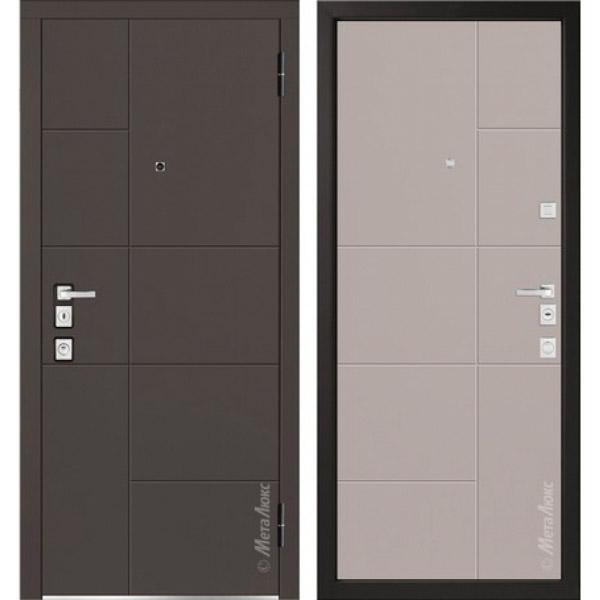Дверь входная металлическая  «Металюкс» М1101/7 Милано