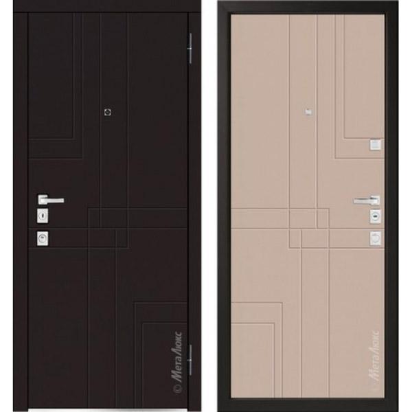 Дверь входная металлическая  «Металюкс» М1102/1 Милано