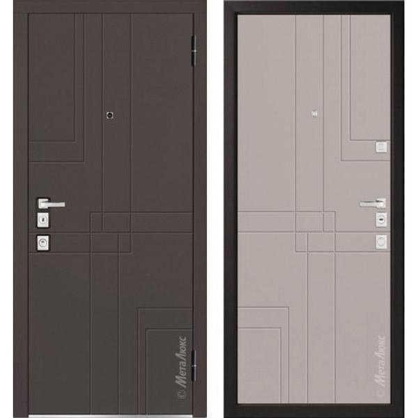 Дверь входная металлическая  «Металюкс» М1102/7 Милано