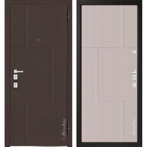 Дверь входная металлическая  «Металюкс» М1103/10 E Милано