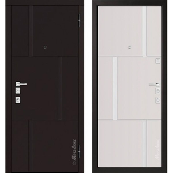 Дверь входная металлическая  «Металюкс» М1103/1 E Милано