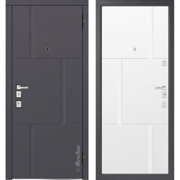 Дверь входная металлическая  «Металюкс» М1103/5 E Милано