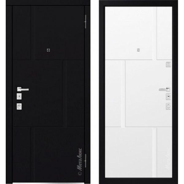 Дверь входная металлическая  «Металюкс» М1103/8 E Милано