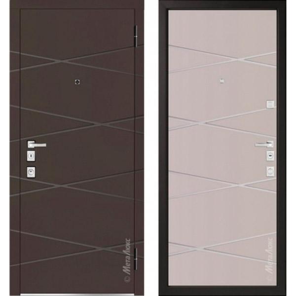 Дверь входная металлическая  «Металюкс» М1104/10 E Милано
