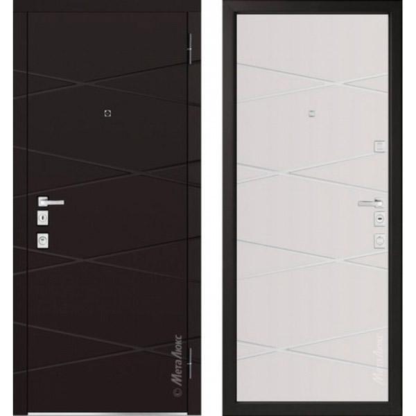 Дверь входная металлическая  «Металюкс» М1104/1 E Милано