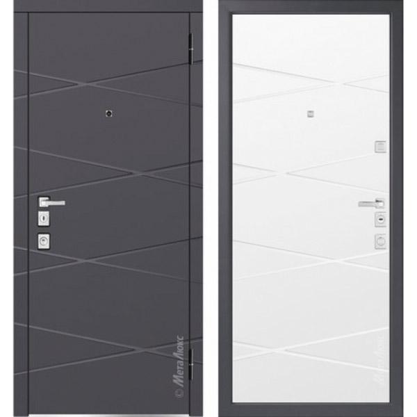 Дверь входная металлическая  «Металюкс» М1104/5 E Милано