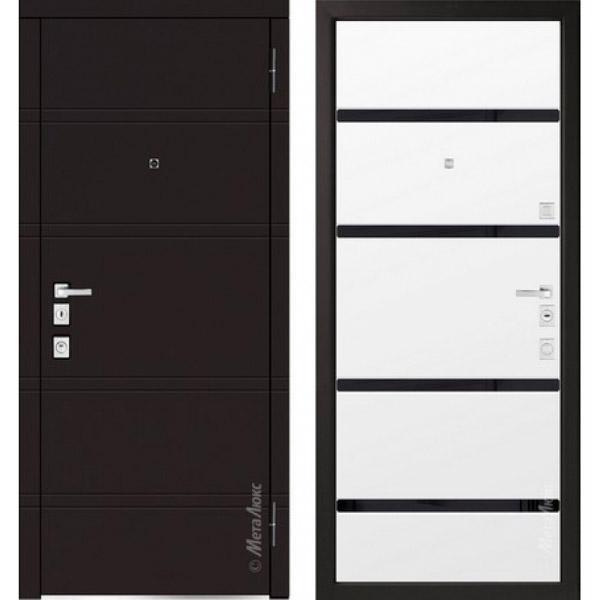 Дверь входная металлическая  «Металюкс» М1300/1 Милано