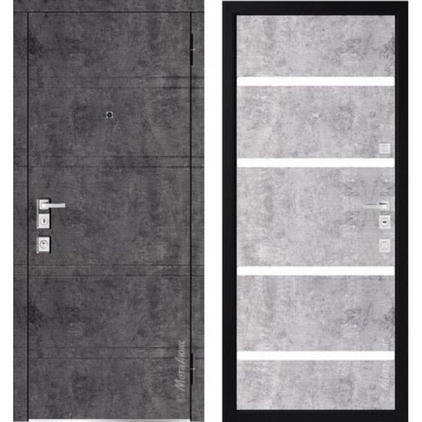 Дверь входная металлическая  «Металюкс» М1300/10 Милано
