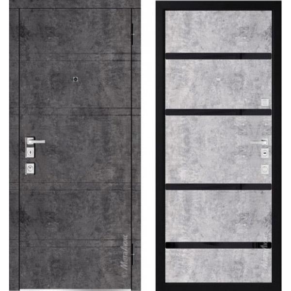 Дверь входная металлическая  «Металюкс» М1300/11 Милано