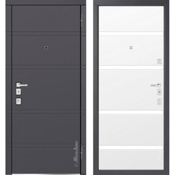 Дверь входная металлическая  «Металюкс» М1300/2 Милано