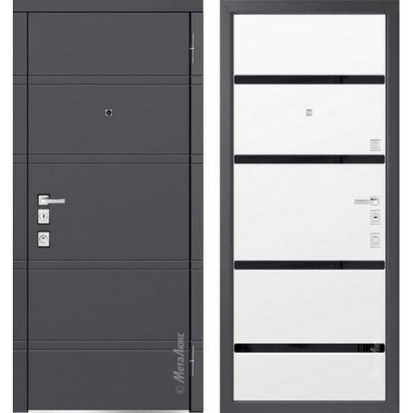 Дверь входная металлическая  «Металюкс» М1300/3 Милано
