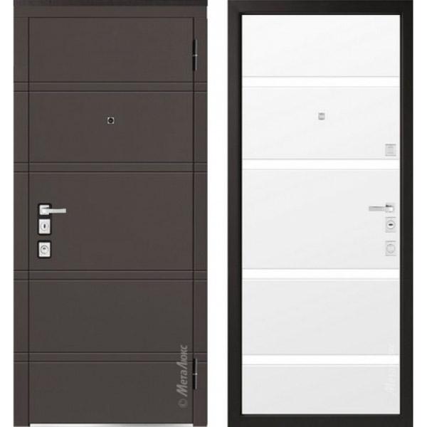 Дверь входная металлическая  «Металюкс» М1300/4 Милано