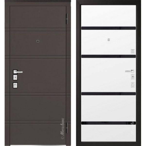 Дверь входная металлическая  «Металюкс» М1300/5 Милано