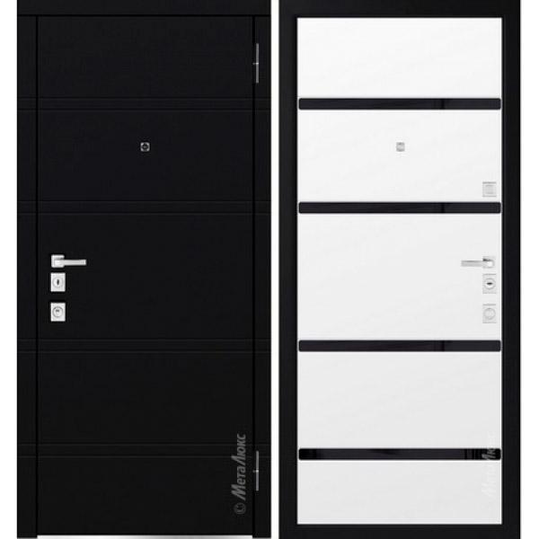 Дверь входная металлическая  «Металюкс» М1300/7 Милано