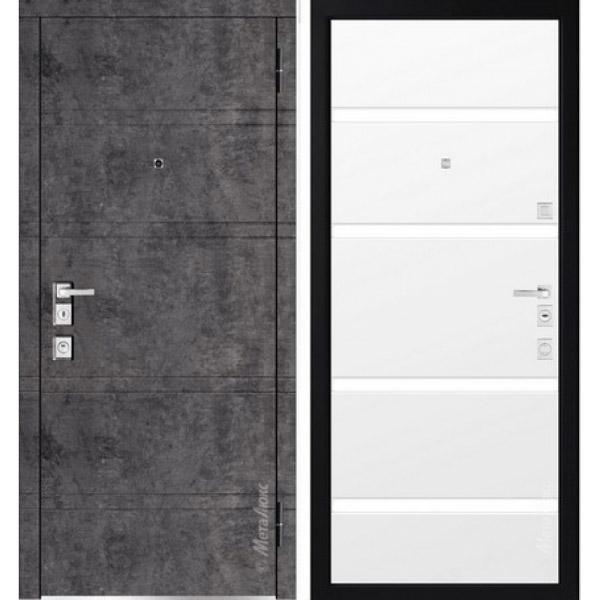 Дверь входная металлическая  «Металюкс» М1300/8 Милано