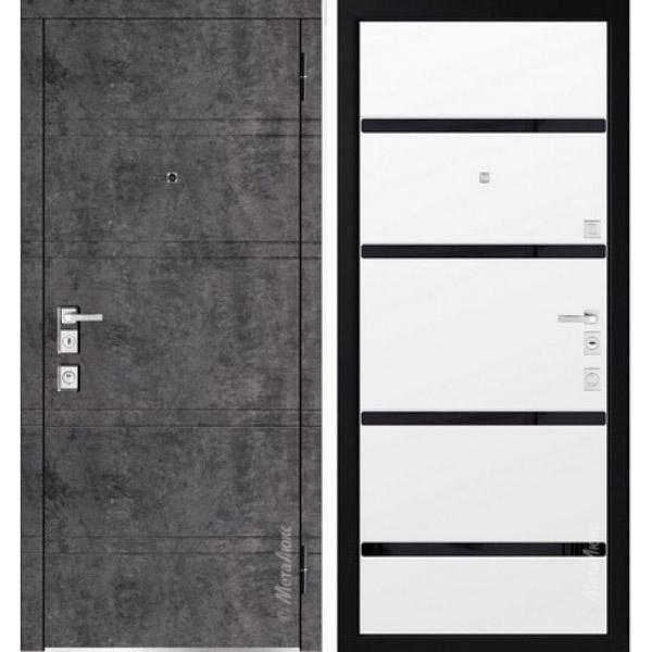 Дверь входная металлическая  «Металюкс» М1300/9 Милано