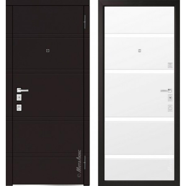 Дверь входная металлическая  «Металюкс» М1300  Милано