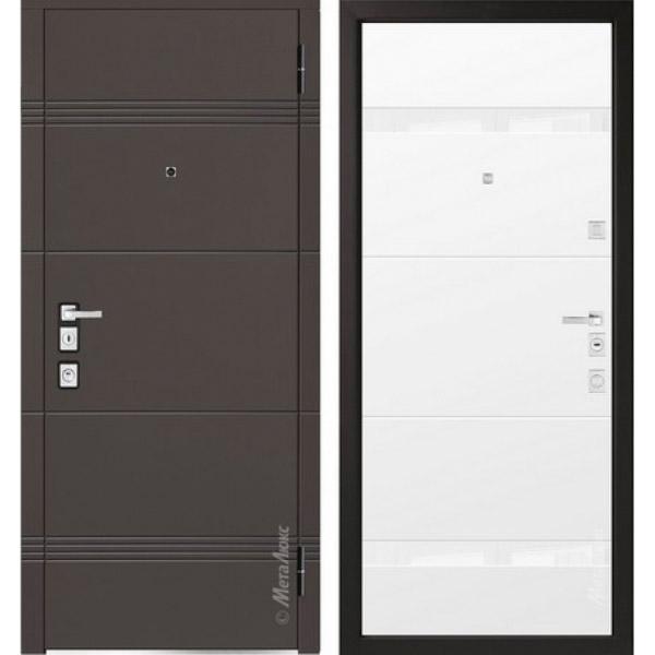 Дверь входная металлическая  «Металюкс»  М1301/2  Милано