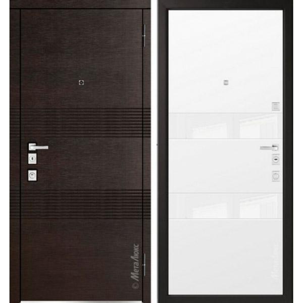 Дверь входная металлическая  «Металюкс»  М1302/3  Милано