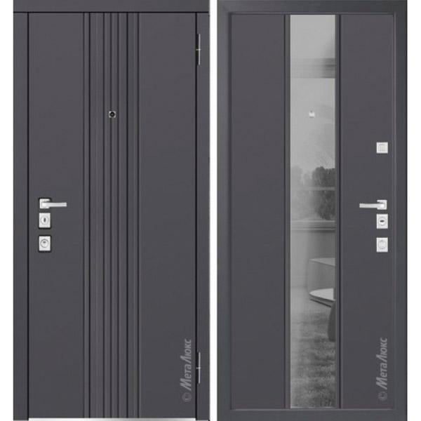 Дверь входная металлическая  «Металюкс»  М1305  Милано