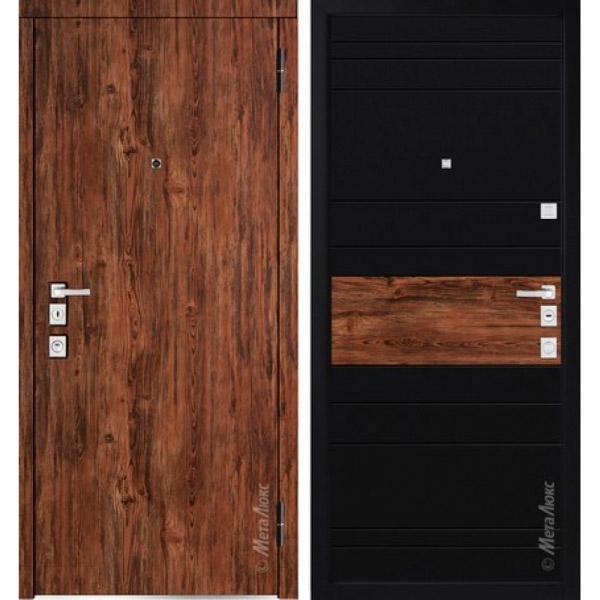 Дверь входная металлическая  «Металюкс»  М1400/2  Милано