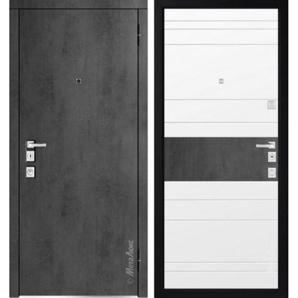 Дверь входная металлическая  «Металюкс»  М1400  Милано