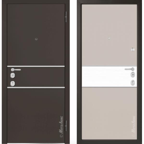 Дверь входная металлическая Металюкс М1402 Милано