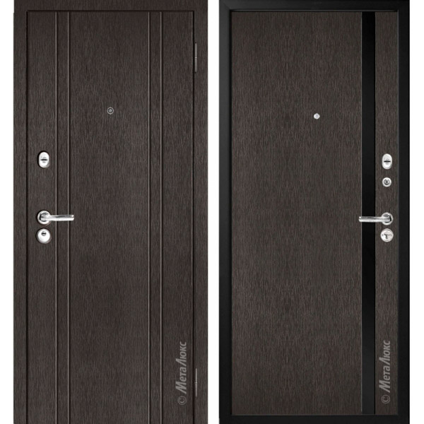 Дверь входная металлическая МетаЛюкс М17