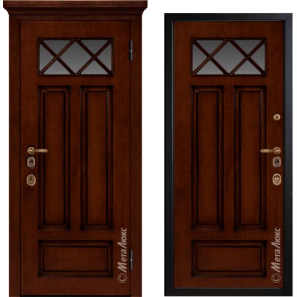 Дверь входная МетаЛюкс ArtWood М1709/11
