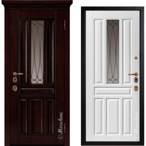 Дверь входная МетаЛюкс ArtWood М1711/1 Е2