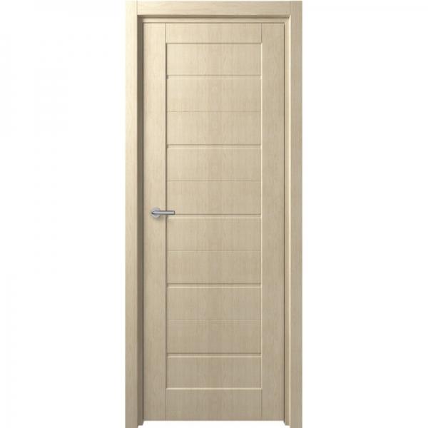 Межкомнатная дверь F-1 ПГ  Беленый дуб