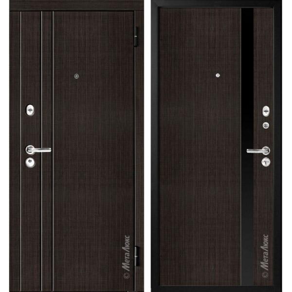 Дверь входная металлическая МетаЛюкс М33