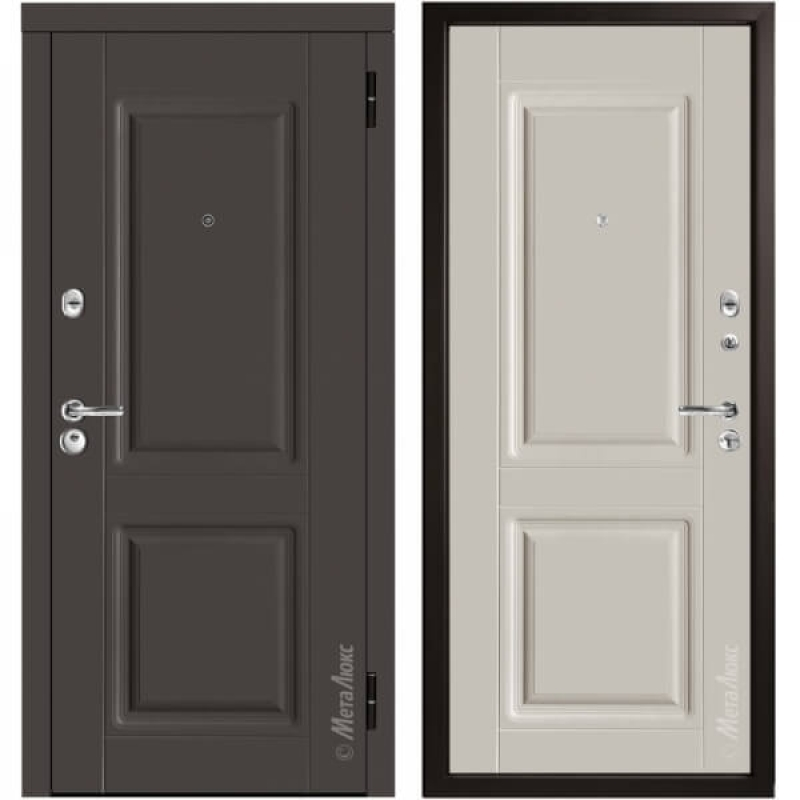Дверь входная металлическая МетаЛюкс М34/10