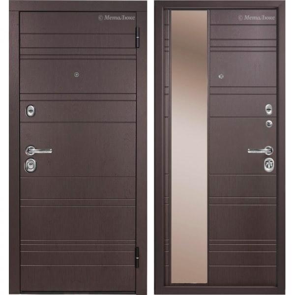 Стальная дверь МетаЛюкс М701 СТАТУС