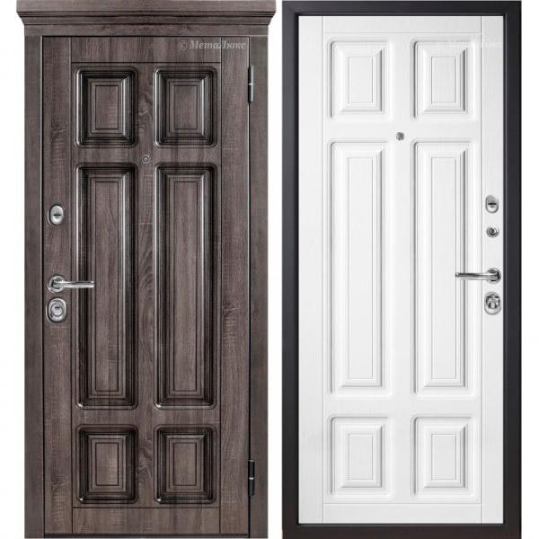 Стальная дверь МетаЛюкс М706/3 СТАТУС
