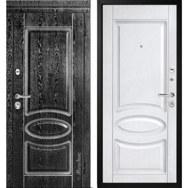 Стальная дверь МетаЛюкс М71/3