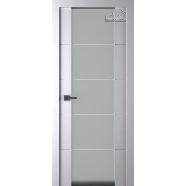 Дверь межкомнатная Белвуддорс Эмаль ARVIKA VETRA 202