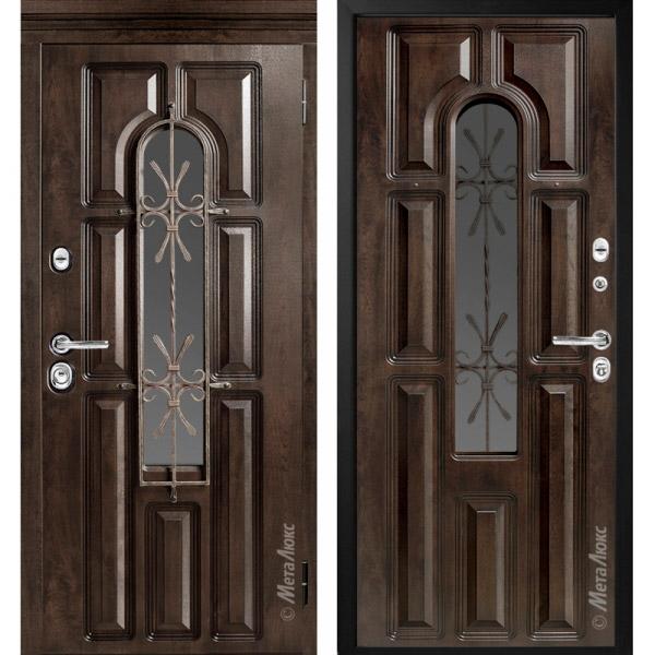 Дверь входная металлическая МетаЛюкс М60