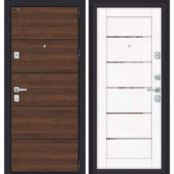 Porta M П50.Л22 Tobacco Greatwood/White Softwood