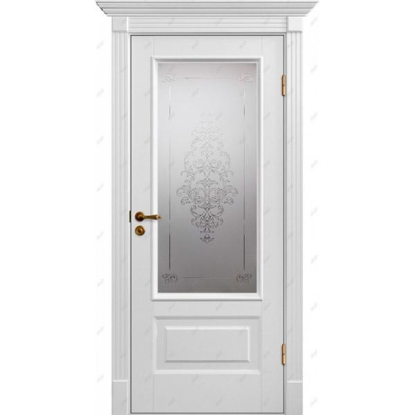 Межкомнатная дверь Палацио 12 (витраж Лувр)