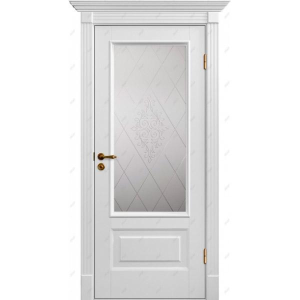 Межкомнатная дверь Палацио 12 (витраж Версаль)