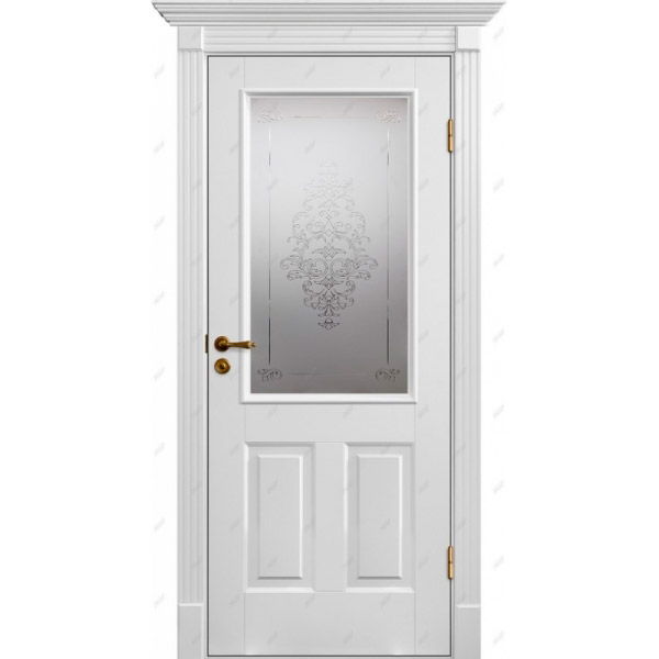 Межкомнатная дверь Палацио 20 (витраж Лувр)