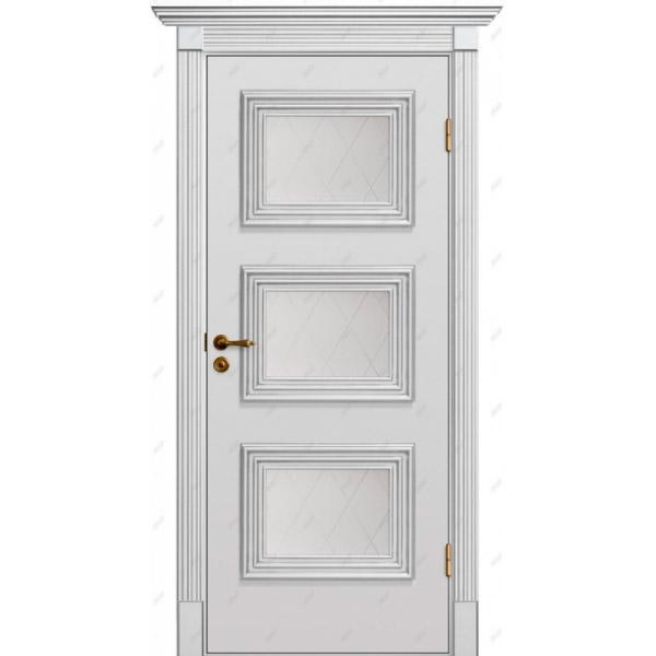 Межкомнатная дверь Прованс патина 24