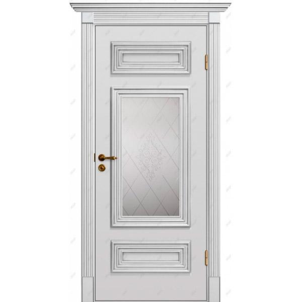 Межкомнатная дверь Прованс патина 27