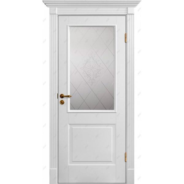 Межкомнатная дверь Палацио 4 (витраж Версаль)