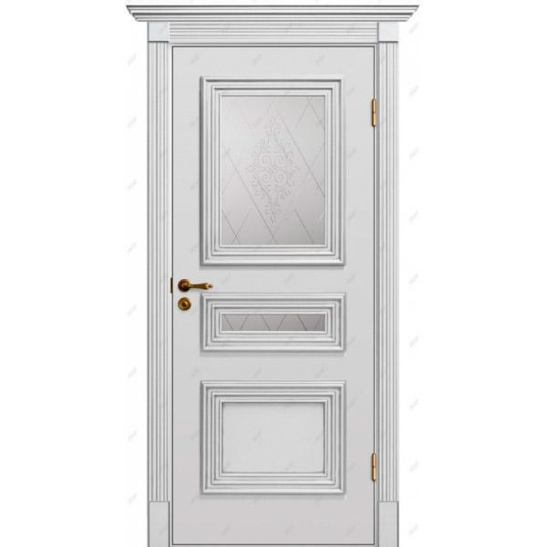 Межкомнатная дверь Прованс патина 8