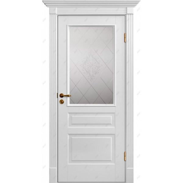 Межкомнатная дверь Палацио 8 (витраж Версаль)